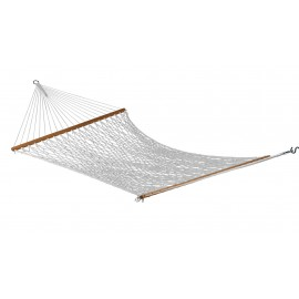 13'FT LARGE COTTON ROPE HAMMOCK - TWO PEOPLE USE