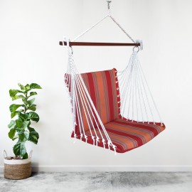 Premium Outdoor Garden Swing Furniture - Sunrise Stripes