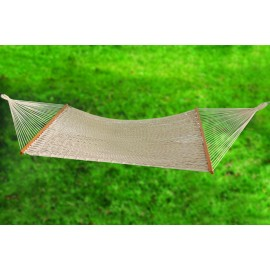 Hangit Mexican Eco-Friendly Tight Rope Hammock - Natural Oatmeal