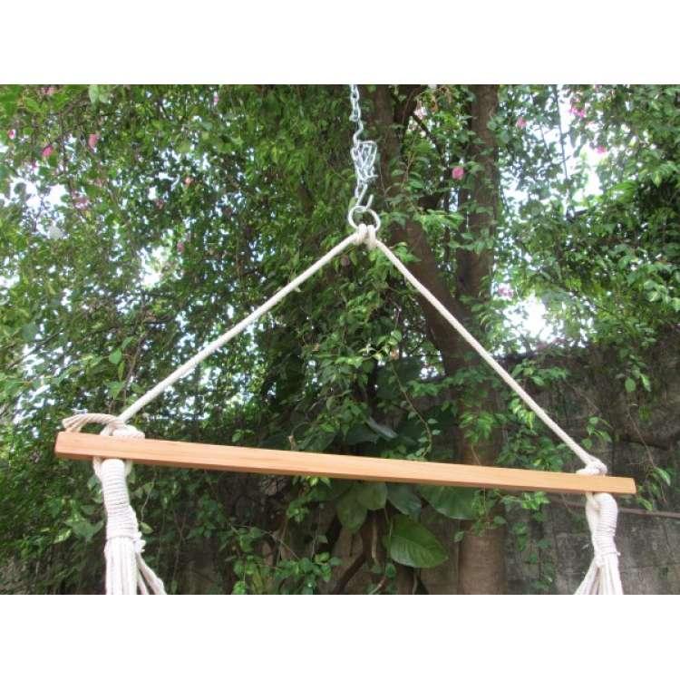 ... Buy Cotton Fabric Outdoor Indoor Garden Swing Furniture In India    NATURAL ...