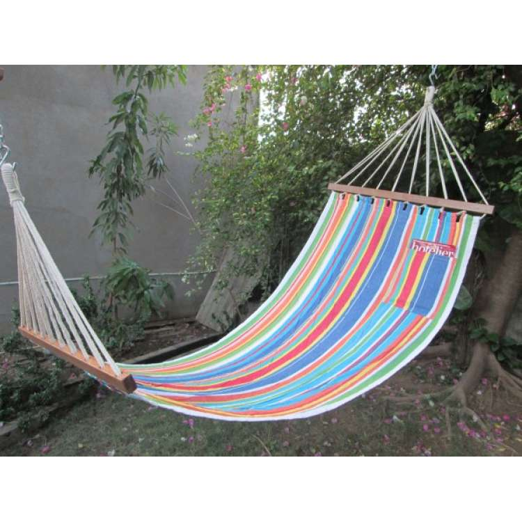 buy 11 u0027ft colorful fabric hammock online in india hangit co in   best buy online hammock swing shopping outdoor      rh   hangit co in