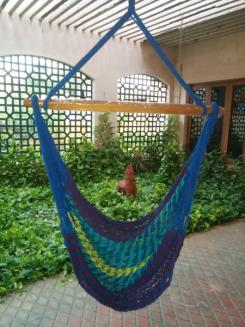 buy outdoor multi color rope hammock swing chair online in india hangit co in   best buy online hammock swing shopping outdoor      rh   hangit co in