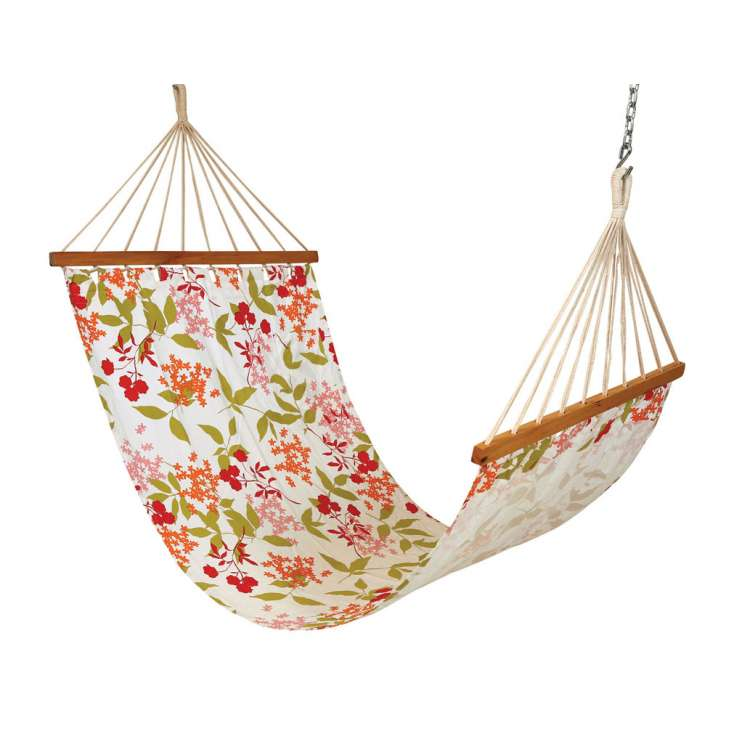 11 u0027ft cotton fabric hammock   floral printed hangit co in   best buy online hammock swing shopping outdoor      rh   hangit co in