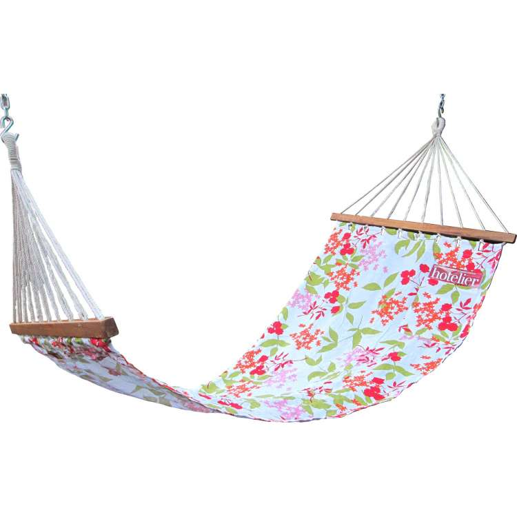 11 u0027ft cotton fabric hammock   floral printed hangit co in   best buy online hammock swing shopping outdoor      rh   hangit co in