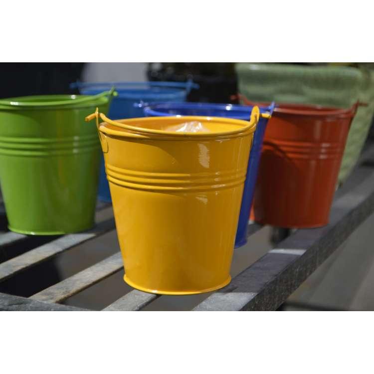 Best buy online hammock swing shopping for Metal bucket planter