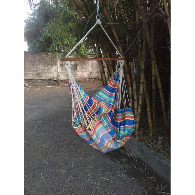 multicolor striped indoor jhula for home with free delivery in india     hangit co in   best buy online hammock swing shopping outdoor      rh   hangit co in