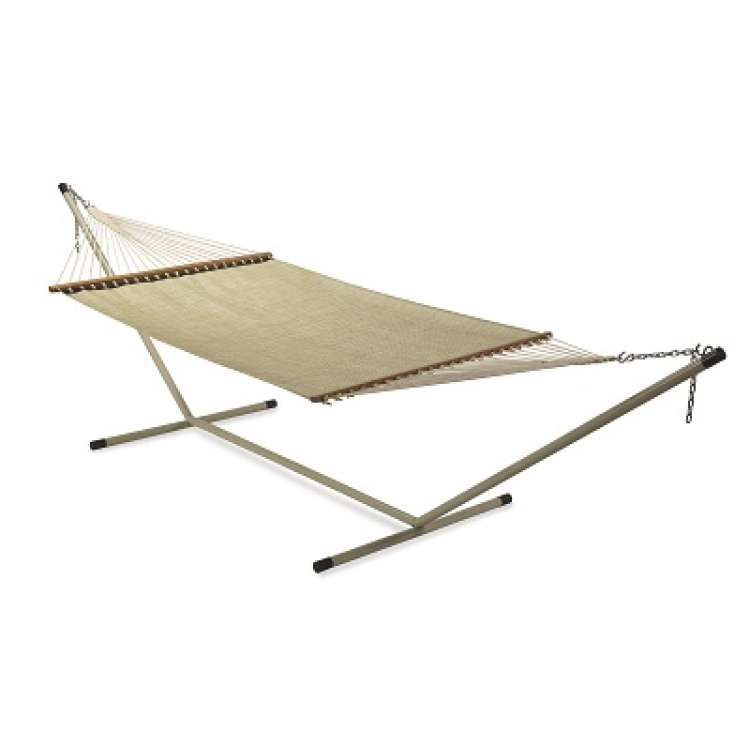 Pool Side Use QUICK DRY Fabric Hammock Furniture   BEIGE