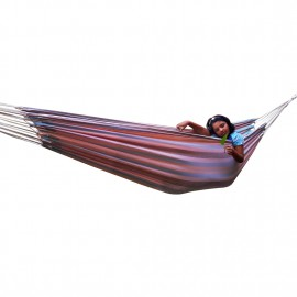 XXL SIZE ECO FRIENDLY COTTON CANVAS HAMMOCK - BEE HIVE