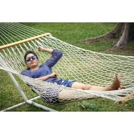 13'FT LARGE POLYESTER ROPE HAMMOCK - IN INDIVIDUAL BOX