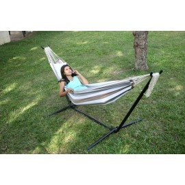 9ft Steel Hammock Stand Compatible for any non-spreader bar Hammocks