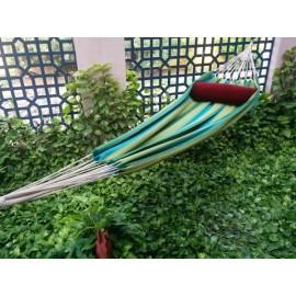 Garden Striped XXL Fabric Hammock Swing