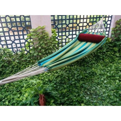 Garden Striped XXL Fabric Hammock Swing