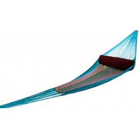 Single Mexican Style Nylon Hand woven Hammocks made in India