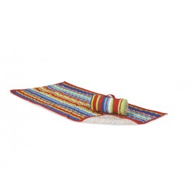 QUILTED BEACH MAT - MULTI COLOR