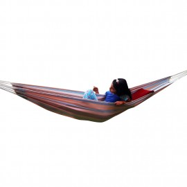 ECO FRIENDLY COTTON CANVAS HAMMOCK WITH HAMMOCKS ACCESSORIES - BEE HIVE