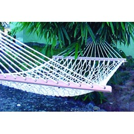36''W X 11'FT COTTON ROPE HAMMOCK -IN INDIVIDUAL BOX