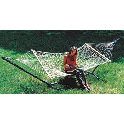 48''W X 11'FT COTTON ROPE HAMMOCK -IN INDIVIDUAL BOX