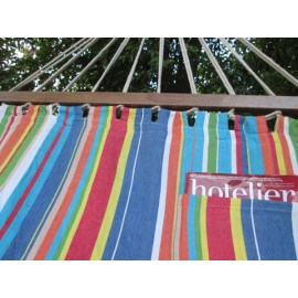 Buy 11'ft colorful fabric hammock online in India