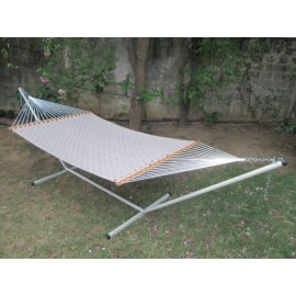 13'FT SOFT COMB QUILTED HAMMOCK - FLAX