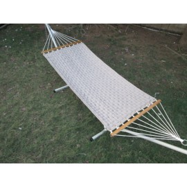 11'FT SOFT COMB QUILTED HAMMOCK - FLAX