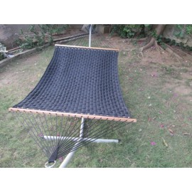 13'FT SOFT COMB QUILTED HAMMOCK - BLACK