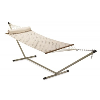 11'FT SOFT COMB QUILTED HAMMOCK - OFF WHITE