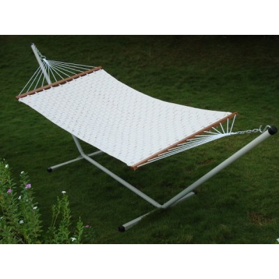 Soft Comb Hammock with Steel Stand
