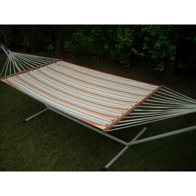 13'FT OLEFIN FABRIC HAMMOCK - ORANGE STRIPE