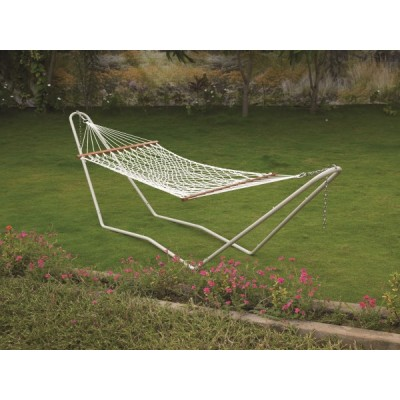36''W X 11'FT UV RESISTANT OUTDOOR ROPE HAMMOCK - SINGLE PERSON USE