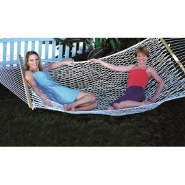 13'FT LARGE POLYESTER ROPE HAMMOCK - TWO PERSON USE