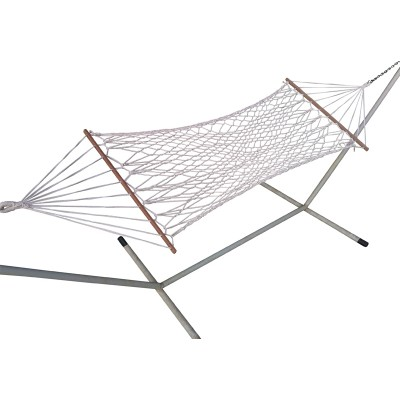 3' Feet Wide Basics Natural Rope Hammock Patio Outdoor Furniture - Single Person Use