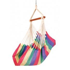Fabric Portable Hammock Swing - Rainbow