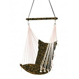Premium Cushioned Calypso Swing - Black