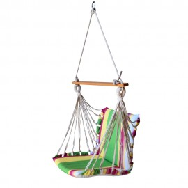 ECONOMY CUSHIONED SWING CHAIR - MULTI