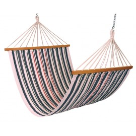 Double Size XL Canvas Hammock - Navy