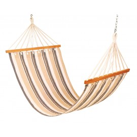 11'FT COTTON FABRIC HAMMOCK - BEIGE