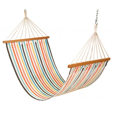 11'FT COTTON FABRIC HAMMOCK - CALYPSO