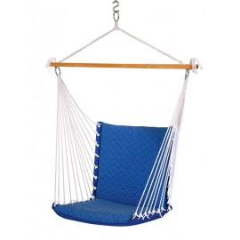 PREMIUM CUSHIONED SWING CHAIR - ROYAL BLUE