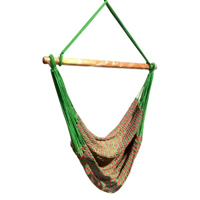 Mayan Multi Color Rope Hammock Swing Chair - Garden