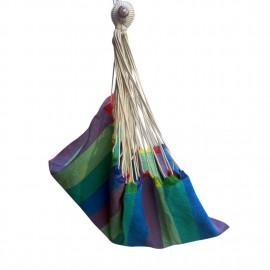 Fabric Portable Hammock Swing - Ocean Stripe