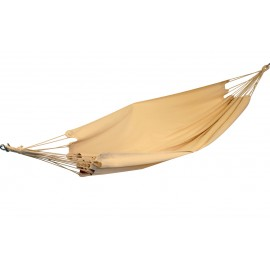60 inch Wide XL Double Brazilian Canvas Hammock - Natural Oatmeal