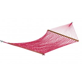 13'FT Double Polyester Burgandy Rope Garden Hammock Swing India