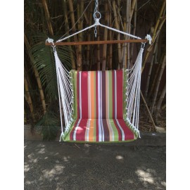 Premium Indoor Swing Furniture - Calypso Stripes