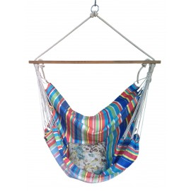 Multicolor Striped Indoor Jhula For Home with Free Delivery in India