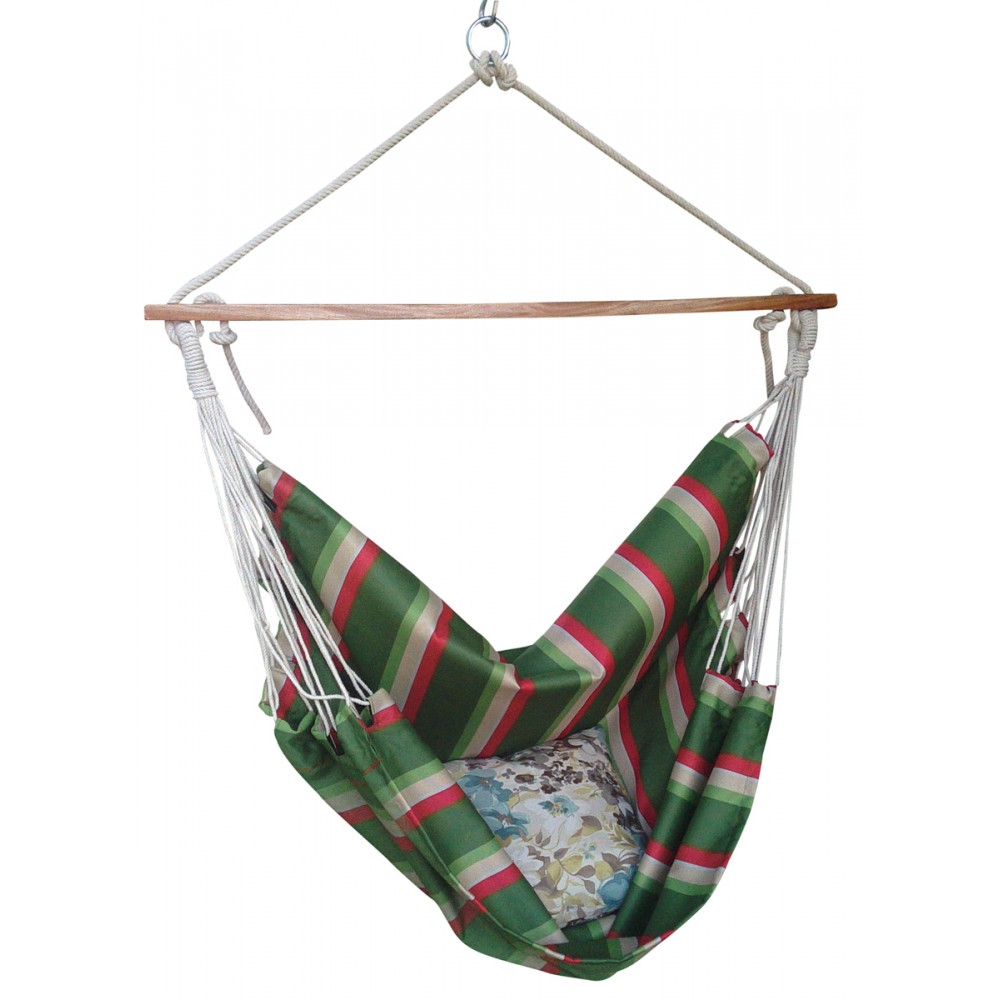 summer striped indoor swing ideal replacement for cane hanging