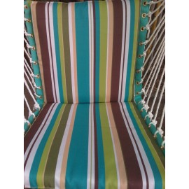 Polyester Premium Cushioned Garden Swing Chair with Best Price in India