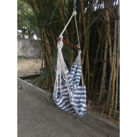 Peacock Striped Indoor Swing For Home with Free Delivery in India