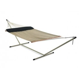 Pool Side Use QUICK DRY Fabric Hammock Furniture - BEIGE