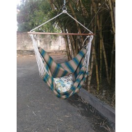 Buy Forest Striped Canvas Swing Online