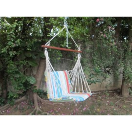 COTTON SOFT SWING - MULTI COLOR STRIPE